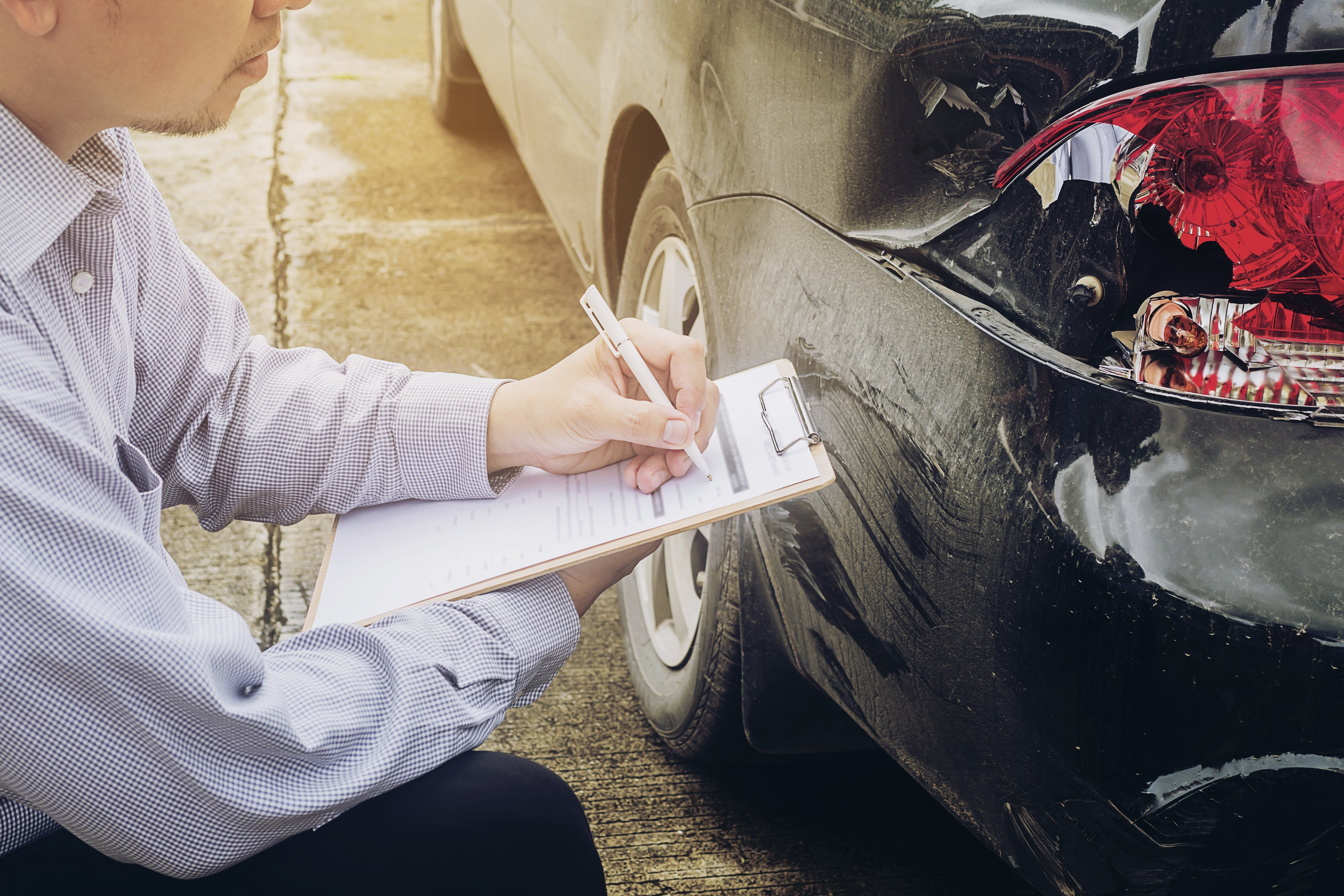 Insurance car accident