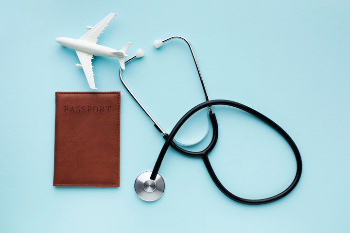 travelling medical insurance with airplane